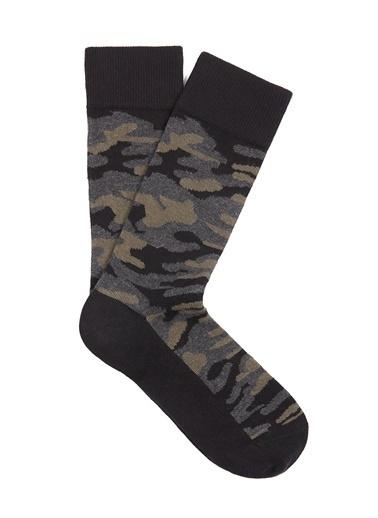 Mavi Çorap Siyah